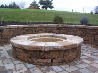 Not a Fire Pit Made from Los Amigos Landscaping