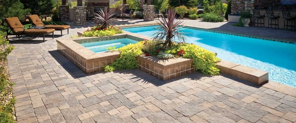 Pool Deck Pavers Are Pavers Around A Pool A Good Idea