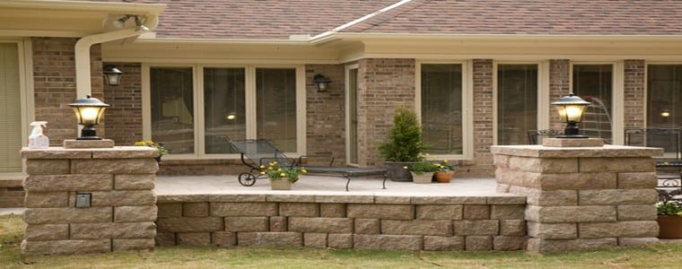 Paver Walls And Paver Retaining Walls