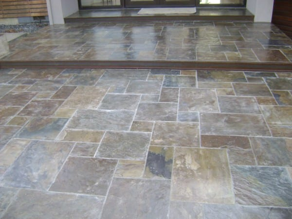 Indoor Pavers Installation in Napa Valley, California