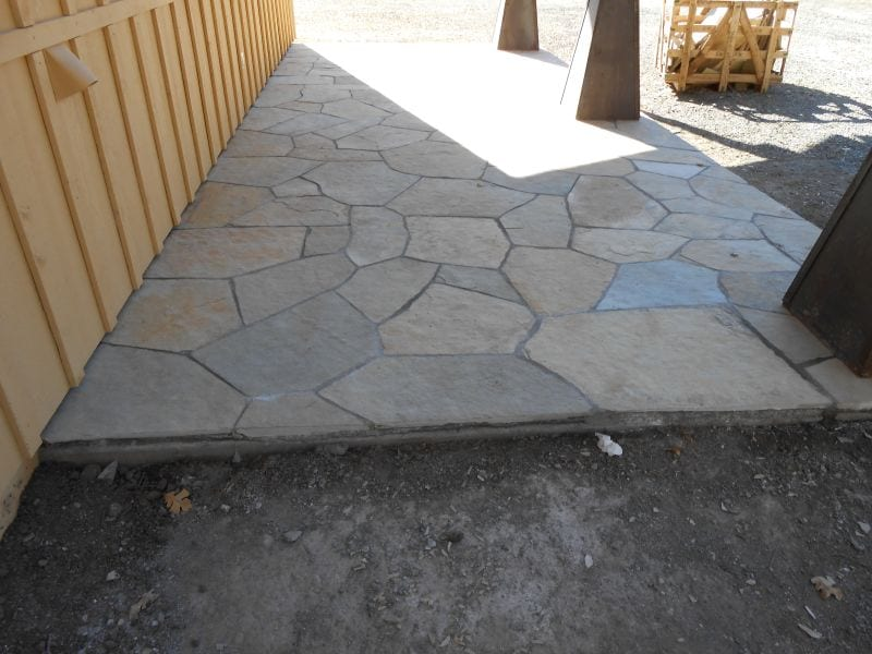 Flagstone Installation - San Rafael California