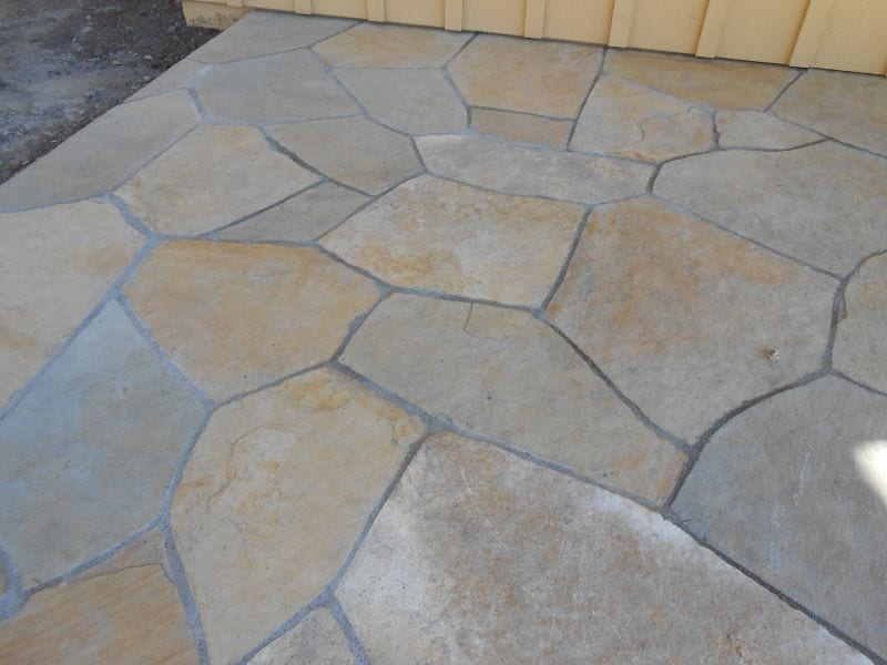 Flagstone Installation - Marin County