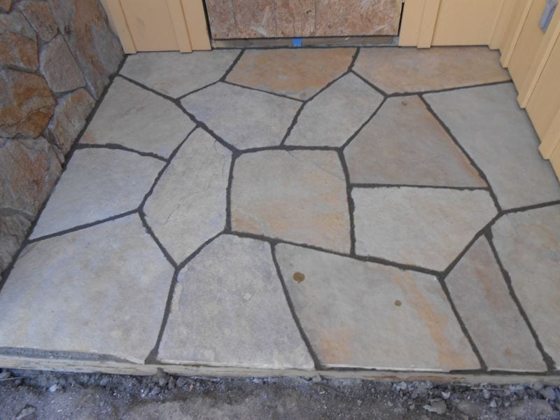 Flagstone Installation - Marin County, Tiburon, Ross,