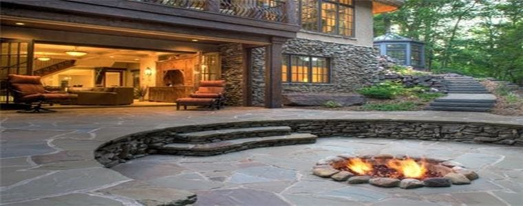 In-ground fire pit - Featured