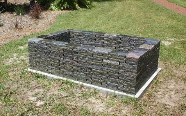 6 fire pit forms that you probably didn 39 t imagine for Rectangular stone fire pit