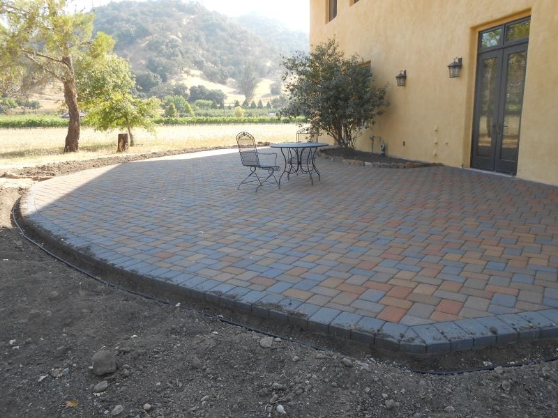 Backyard Patio Installation - Napa Valley, Sonoma County, Marin County