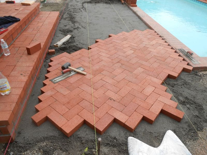 Brick Pool Deck Installers in the Bay Area