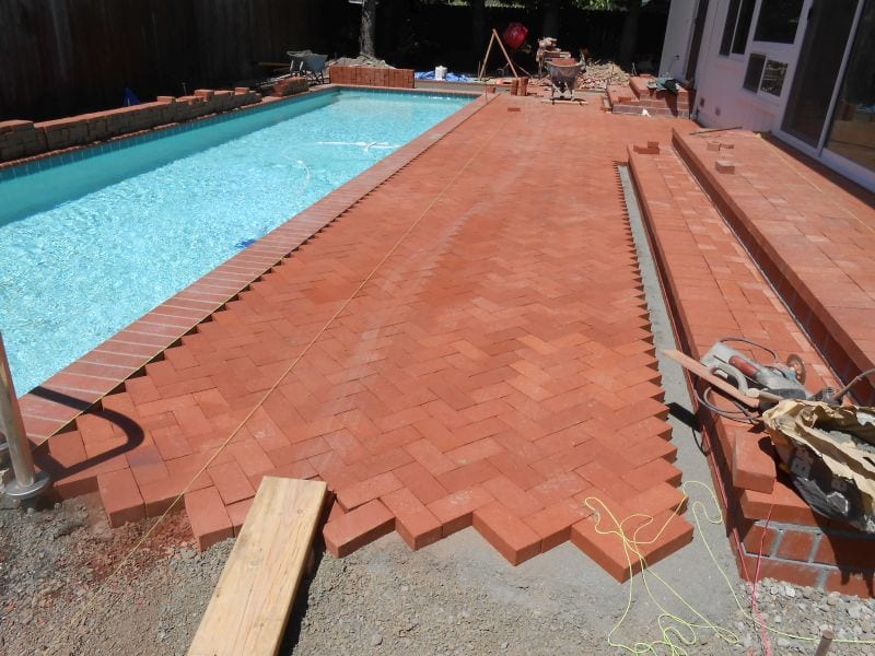 Bricks installed in Napa County, Sonoma County