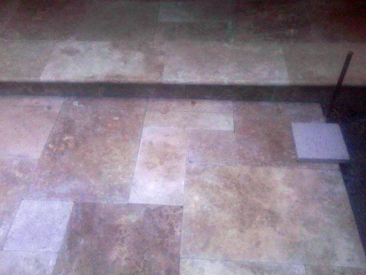 Closer look at our #Travertine #Construction job in #SonomaCounty