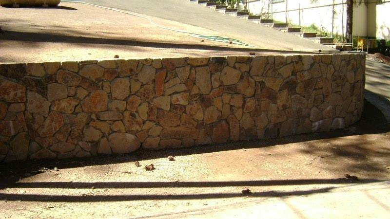 Contra Costa County Natural Stone Retaining Walls