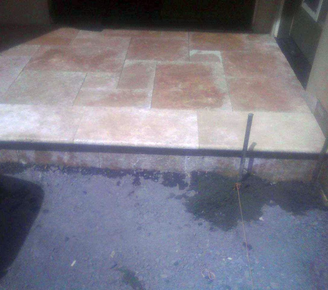 Landing and Pavers Installation - Sebastopol California